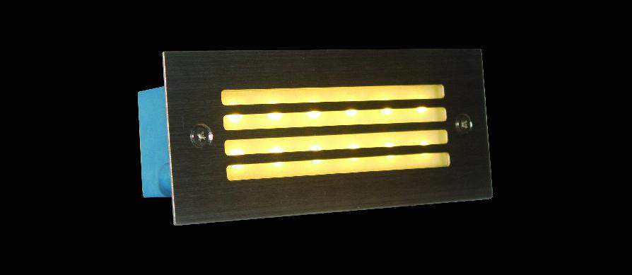 ĐÈN ÂM CẦU THANG HUFA ACT 2906 W110xL45xH55 LED 3W