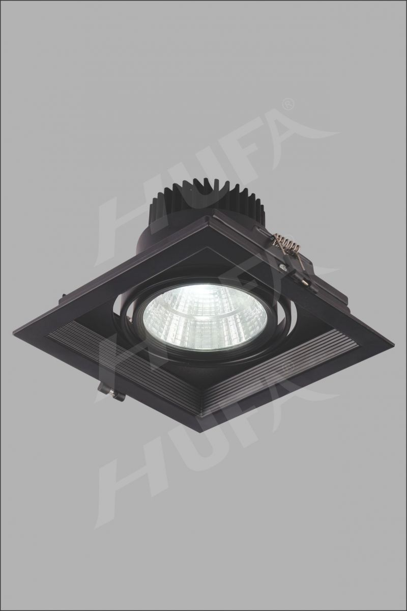 ĐÈN LED ÂM TRẦN HUFA AT 100 LED COB 10W W150xH150 L19