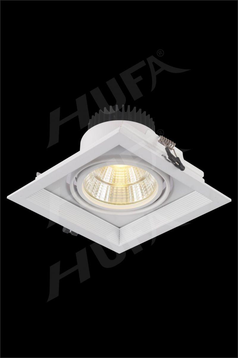ĐÈN LED ÂM TRẦN HUFA AT 98 LED COB 10W W150xH150 L19