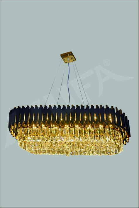ĐÈN CHÙM PHA LÊ HUFA CFL 1931 L900 x W300 x H280 LED 60W 3CD T191