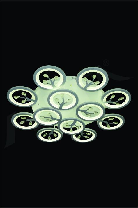 ĐÈN MÂM KIỂU Ý HUFA CY 095/12 Ø820xH130 LED 3CD T316