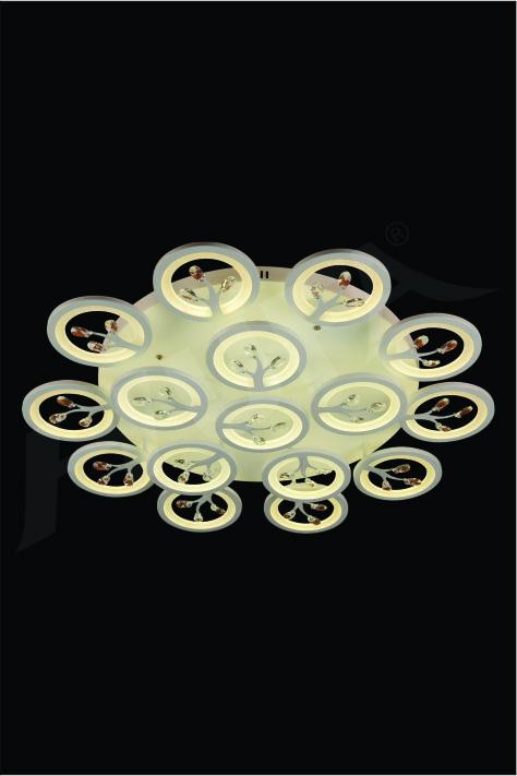 ĐÈN MÂM KIỂU Ý HUFA CY 095/16 Ø950xH130 LED 3CD T316
