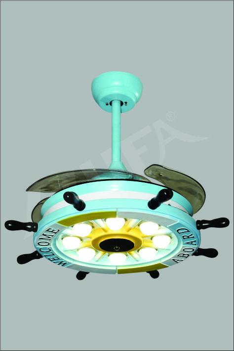 ĐÈN QUẠT HUFA DQ 9006 W500 x H520 - CÁNH W1.100 LED 48W T89