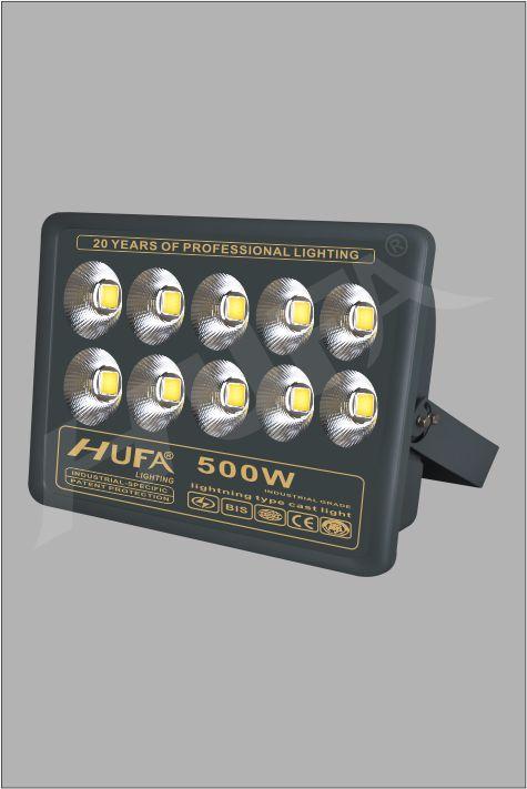 ĐÈN PHA LED HUFA FAD 500W COB L520xW210xH560 IP66 L55