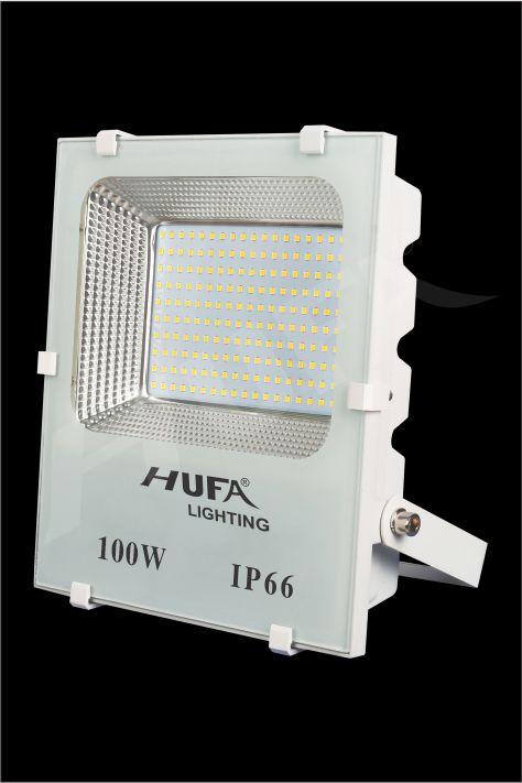 ĐÈN PHA LED HUFA FAT 100W L290xW85xH350 IP66 L56