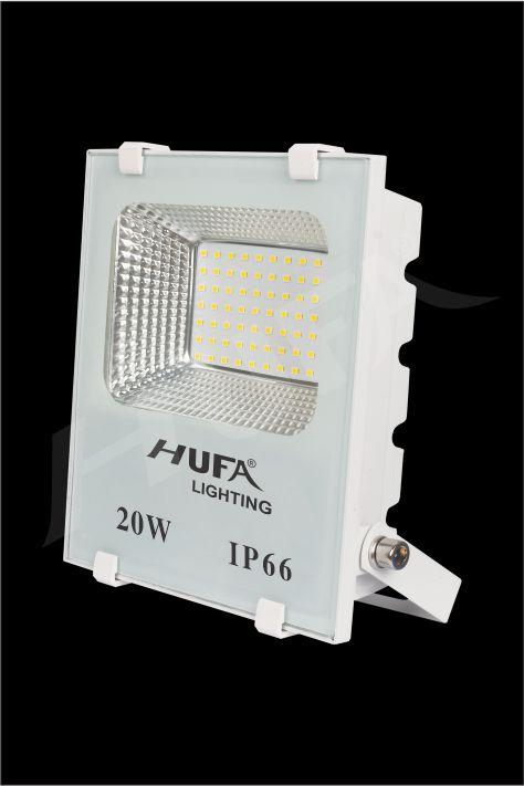 ĐÈN PHA LED HUFA FAT 20W L185xW60xH210 IP66 L56