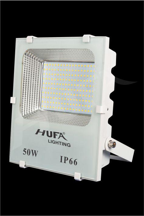 ĐÈN PHA LED HUFA FAT 50W L230xW75xH290 IP66 L56