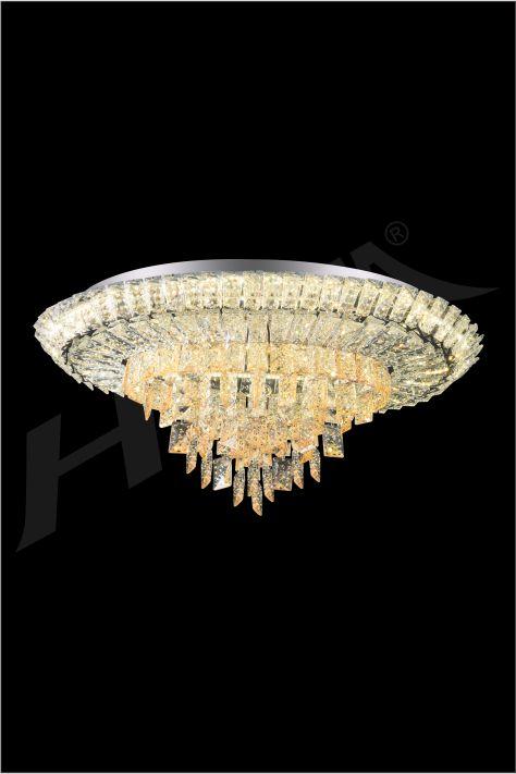 ĐÈN MÂM LED PHA LÊ HUFA ML 3676 Ø650x460xH310 LED 3CD T256