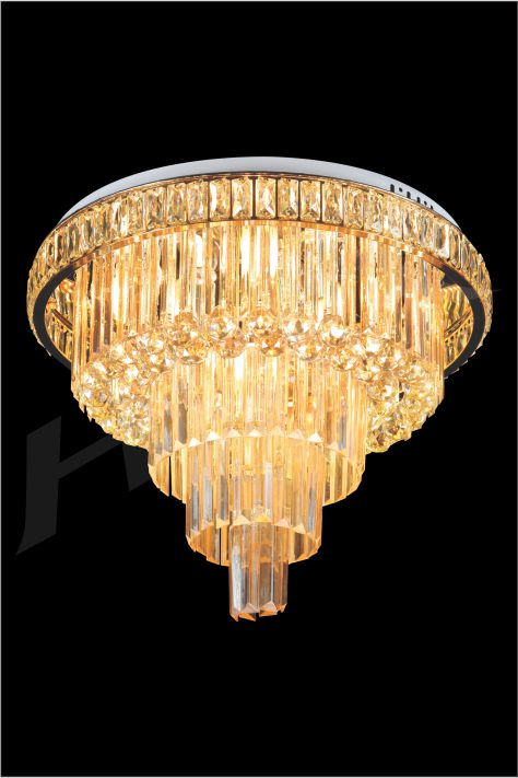 ĐÈN MÂM LED PHA LÊ HUFA ML 2949 Ø600xH490 LED 72W 3CD T259