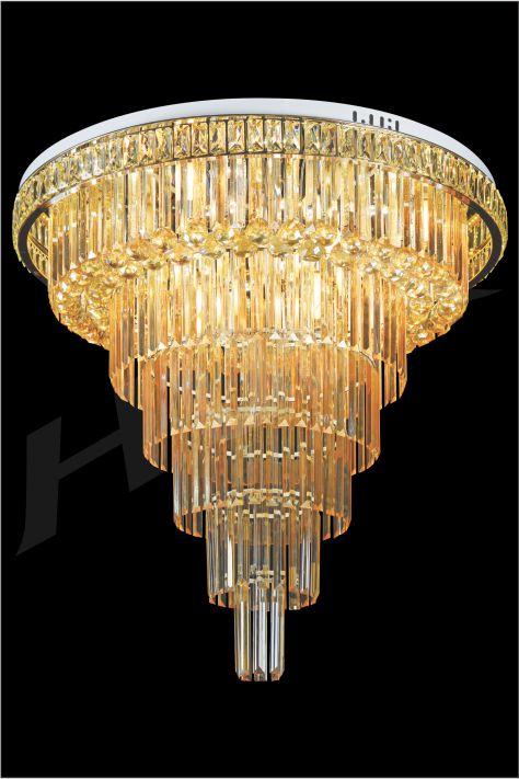 ĐÈN MÂM LED PHA LÊ HUFA ML 2949 Ø800xH820 LED 126W 3CD T259