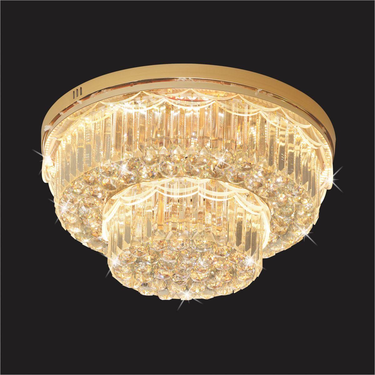 Đèn Mâm Pha Lê Hufa MLF 8018 Ø600xH300 LED SMD 99 HẠT T82