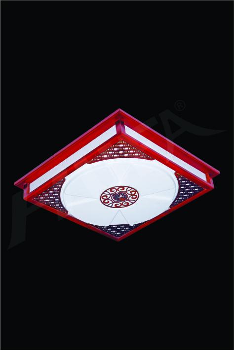 ĐÈN MÂM LED GỖ HUFA OTG 01 Ø520xH80 LED 80W 3CD T360