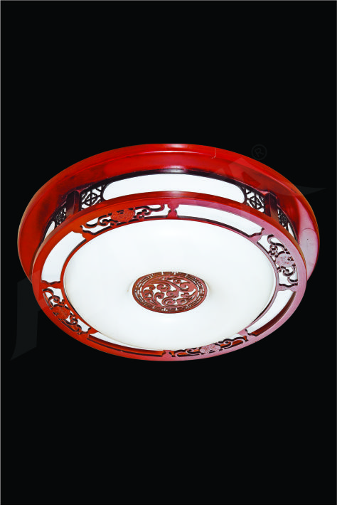 ĐÈN MÂM LED GỖ HUFA OTG 05 Ø500xH80 LED 80W 3CD T357