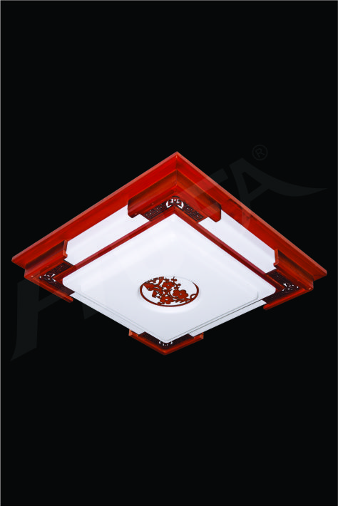 ĐÈN MÂM LED GỖ HUFA OTG 06 Ø520xH80 LED 80W 3CD T361