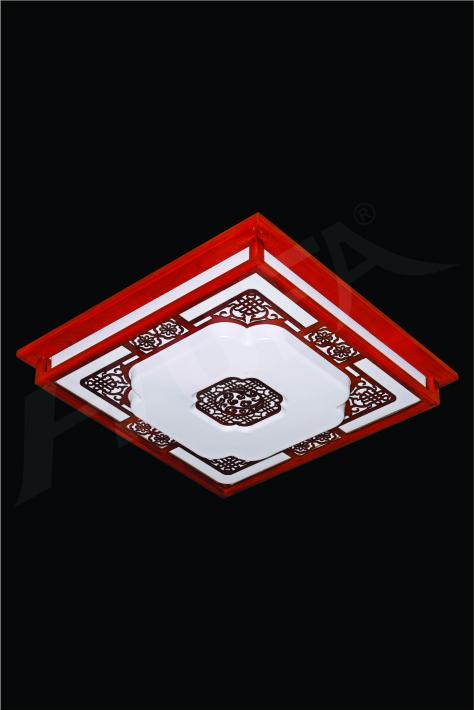 ĐÈN MÂM LED GỖ HUFA OTG 07 Ø520xH80 LED 80W 3CD T361