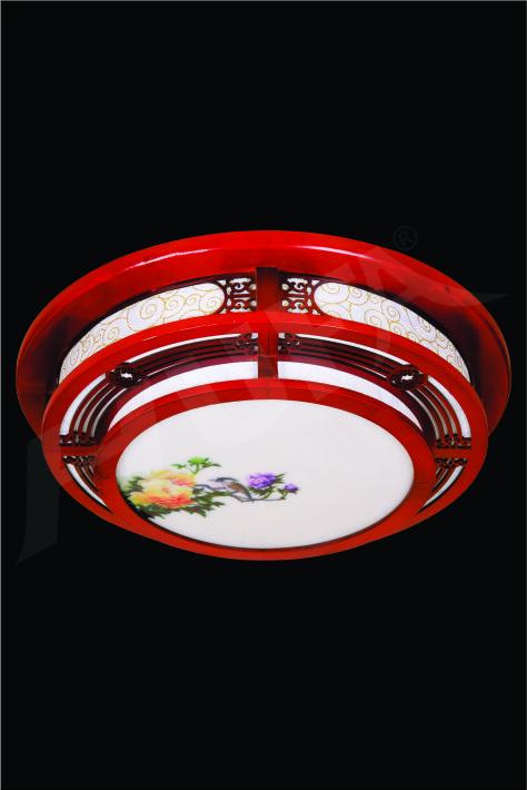 ĐÈN MÂM LED GỖ HUFA OTG 12 Ø520xH80 LED 80W 3CD T359