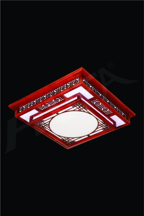 ĐÈN MÂM LED GỖ HUFA OTG 14 Ø520xH80 LED 80W 3CD T360