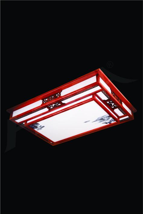 ĐÈN MÂM LED GỖ HUFA OTG 15 Ø1000x700xH170 LED 100W 3CD T362