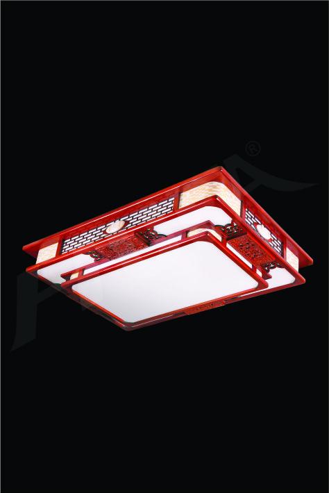 ĐÈN MÂM LED GỖ HUFA OTG 17 Ø1000x700xH170 LED 100W 3CD T362