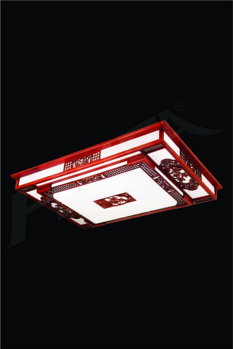 ĐÈN MÂM LED GỖ HUFA OTG 18 Ø1000x700xH170 LED 100W 3CD T362