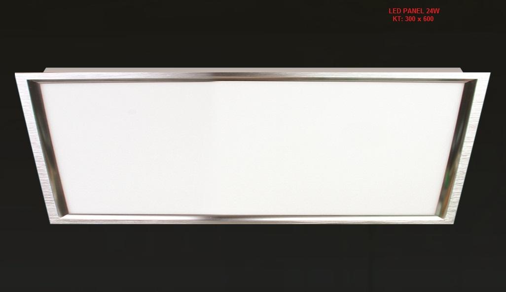 ĐÈN LED ÂM TRẦN PANEL 24W 300x600