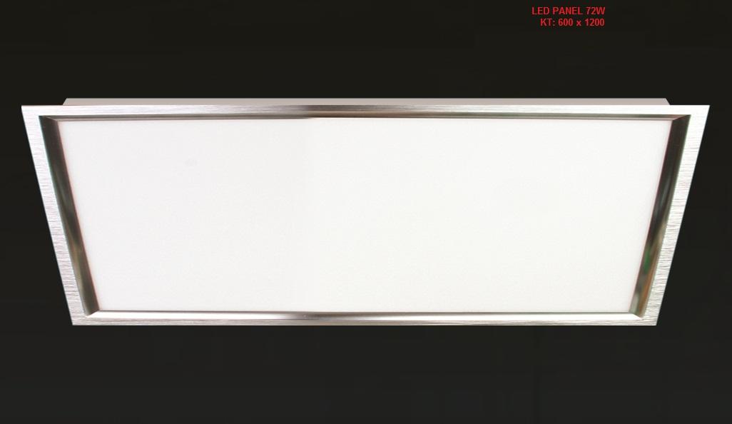 ĐÈN LED ÂM TRẦN PANEL 72W 600x1200
