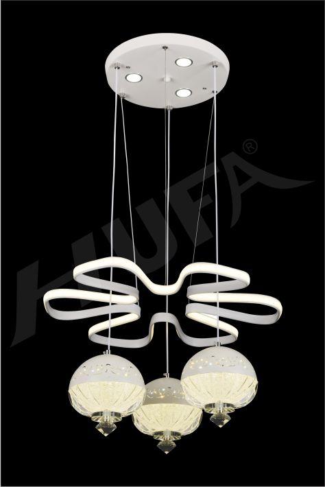 ĐÈN THẢ LED HUFA TL 1709/4 LED 3CD  T214