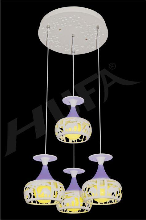 ĐÈN THẢ LED HUFA TL 2238/4 LED RGB 3CD T216