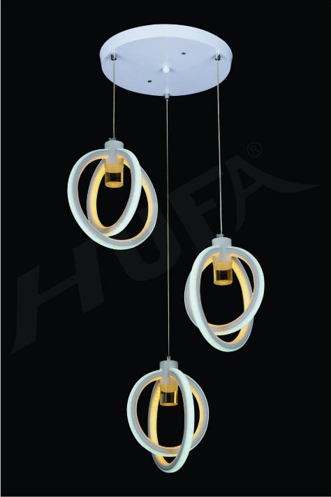ĐÈN THẢ LED HUFA TL 5124/3  LED 77W 3CD T209