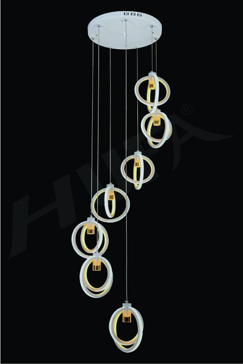 ĐÈN THẢ LED HUFA TL 5124/7  LED 154W 3CD T209