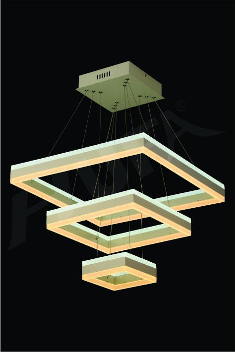 ĐÈN THẢ LED HUFA TL 804/3 Ø600+400+200 x H1000 LED 192W T198