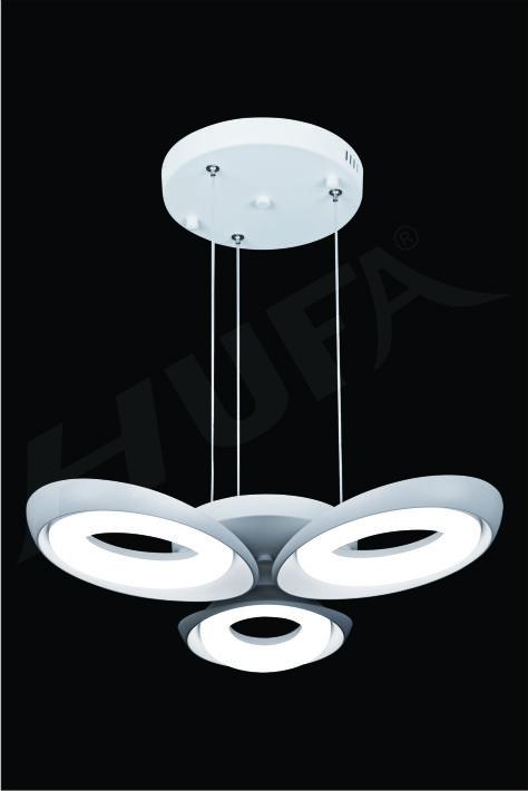 ĐÈN THẢ LED HUFA TL 8626/3T Ø580 x H600 LED 36W 3CD T204
