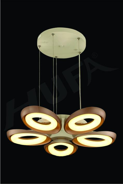 ĐÈN THẢ LED HUFA TL 8626/5CF Ø680 x H600 LED 60W 3CD T204