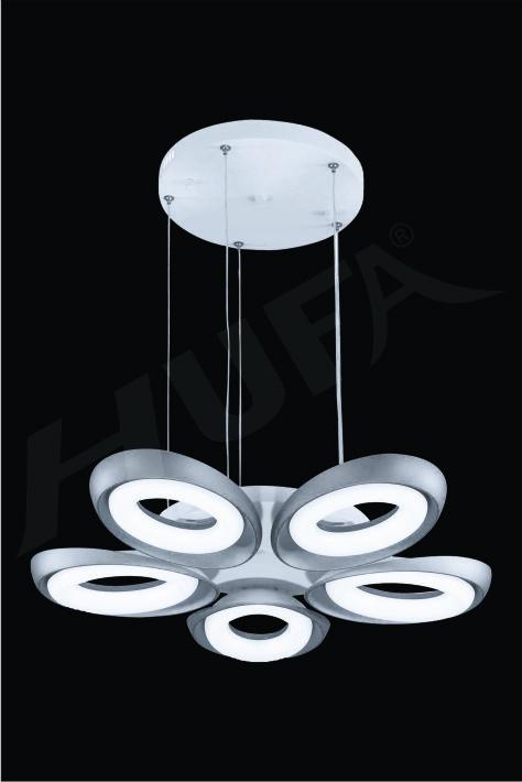 ĐÈN THẢ LED HUFA TL 8626/5T Ø680 x H600 LED 60W 3CD T204