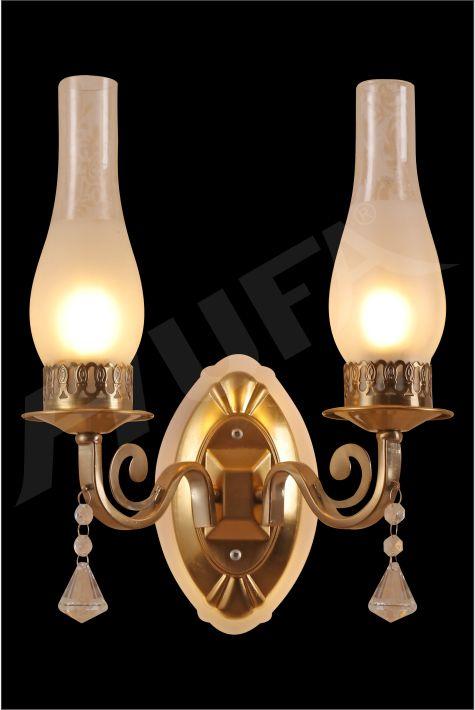 ĐÈN VÁCH LED HUFA V 702/2 LED + E27x2 T369
